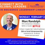 STUDENTS! @netflix Co-Founder and HPU's Entrepreneur in Residence @mbrandolph is hosting a campus-wide Q&A ONE WEEK from today! 🙌💜Don't miss this amazing mentorship opportunity! #HPU365 #AccesstoInnovators