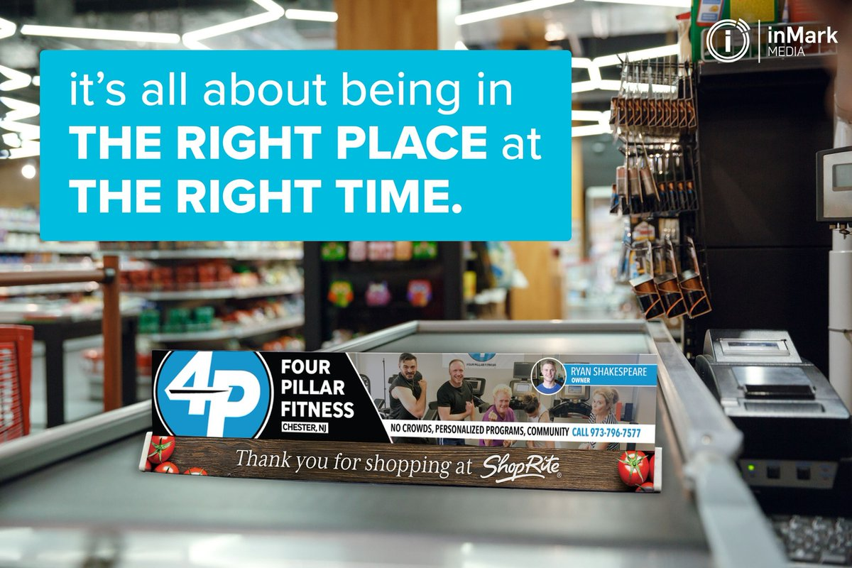 Imagine being seen by up to 25,000+ shoppers per week?! Our brand bars give you the local exposure to clients you want to acquire.  #inMarkMedia #AgencyLife pic.twitter.com/lTKSu9JRdo