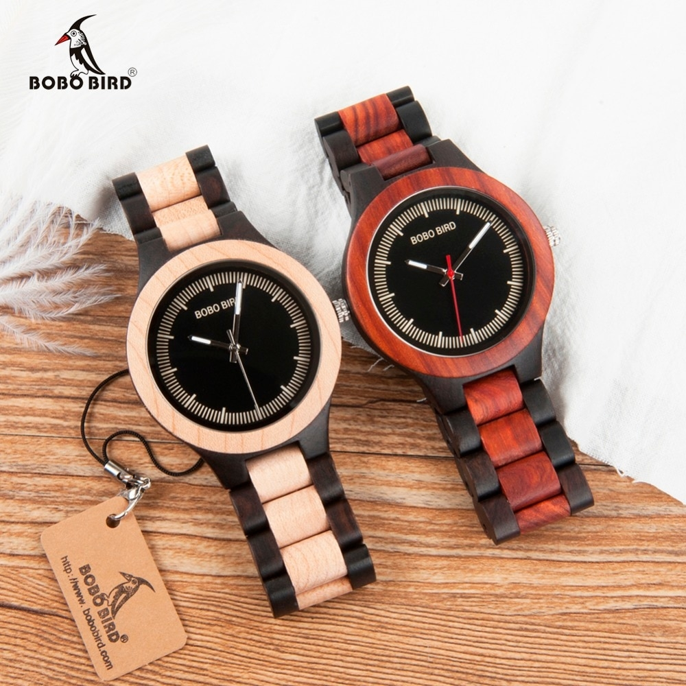 #dailywatch #watchaddict BOBO BIRD WO01O02 Wood Watch Ebony RedWood Pine Wooden Watches for Men Two-tone Wood Quartz Watch with Tool for Adjusting Size https://www.wooden-watches.biz/bobo-bird-wo01o02-wood-watch-ebony-redwood-pine-wooden/…pic.twitter.com/xyBkUaJSwM