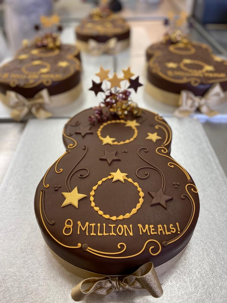 Celebrating a whopping 8 million meals  with cake !   Our corporate cakes are a fun and creative way to celebrate your business milestones, and reward your team!  Find out more  https://www. thecakestore.co.uk/corporate-cake s/  …  #businessmilestones #business #celebration #corporatecakes #logocakes<br>http://pic.twitter.com/zaBfLbCfxy