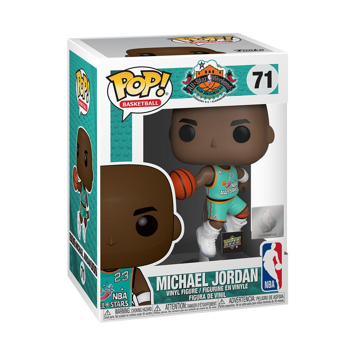 RT & follow @OriginalFunko for a chance to WIN a @UpperDeckSports exclusive Michael Jordan Pop!  #Funko #FunkoPop #Pop #Giveaway #exclusive #MJ #MJMondays #HBD #MichaelJordan #AllStar
