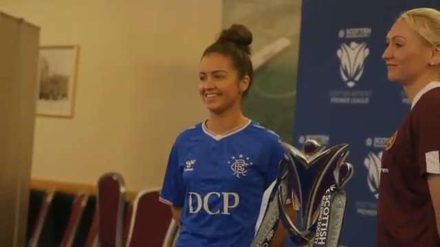 Only 6⃣ days until the start of the 2020 SWPL season 🤩Emma Brownlie was at Hampden today for the launch of the new campaign.