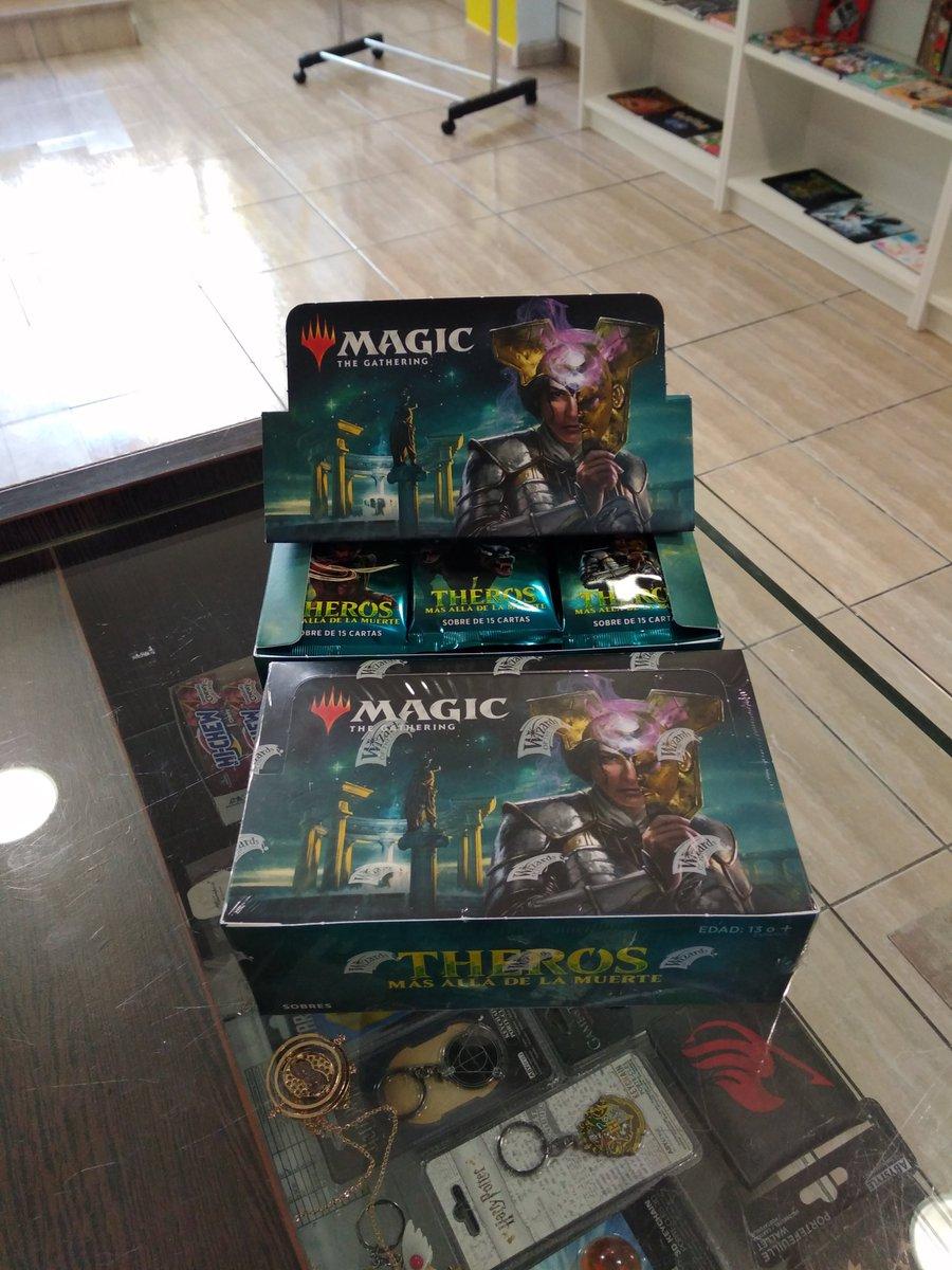 Ja tenim sobres de la nova edició de #MagicTheGathering a la botiga. #Botigafriki  #botigadejocsdetaula #jocsdetaula #larapita #carrersantisidrepic.twitter.com/fgD8iDyiD7