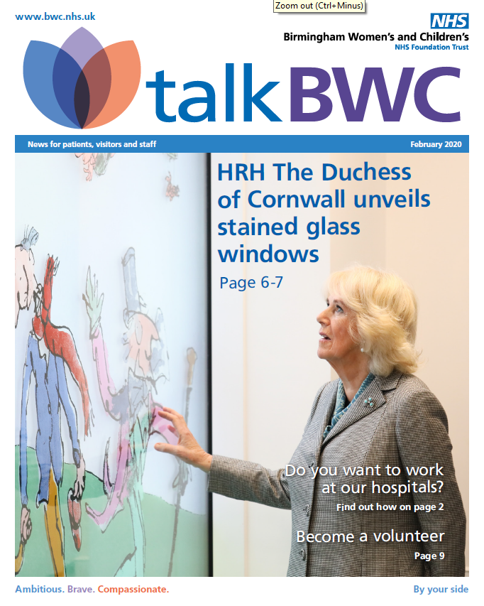 Had a read of our latest talk BWC yet? If not, download your copy from our website. It has details on joining our volunteering team, the £2million target being reached for our Critical Journeys Appeal and our recent visit from HRH The Duchess of Cornwall.  http://socsi.in/T6mlOpic.twitter.com/o8E1k2JxlB