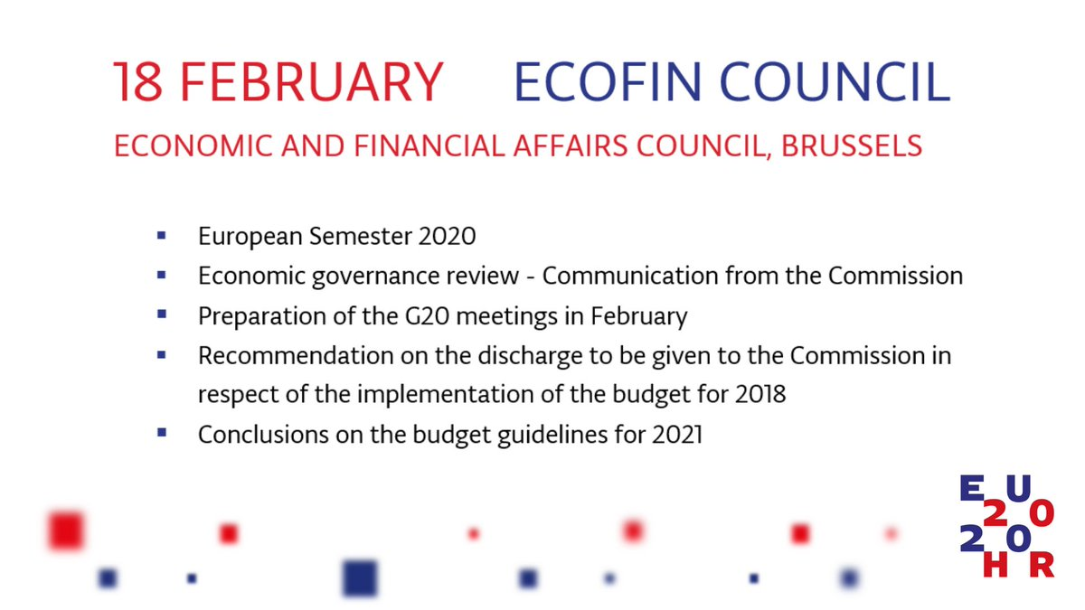 Today´s #ECOFIN agenda: #EconomicGovernance review, #EuropeanSemester, EU #annualbudget. Council will update the EU list of non-cooperative jurisdictions to increase the transparency of taxation. #Estonia is represented by Ambassador Rein Tammsaar.  More: https://t.co/5MxdIY02uD