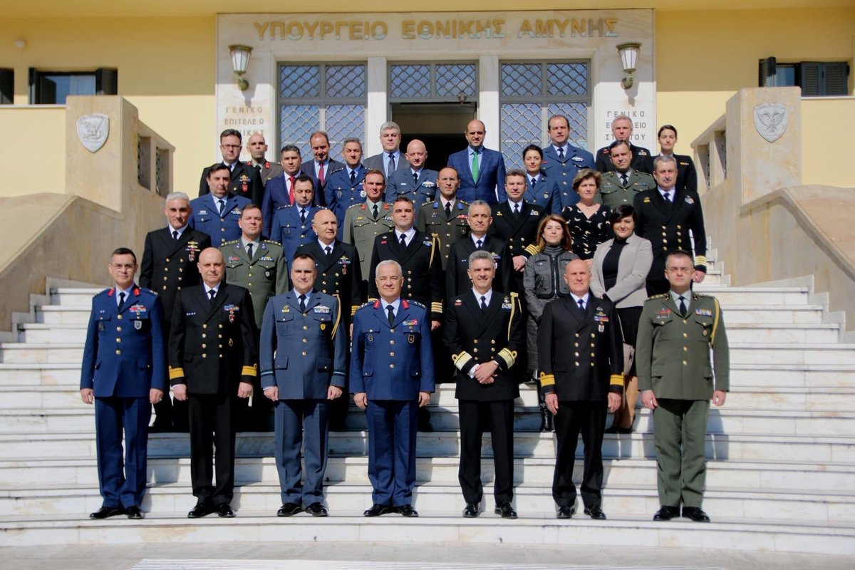"""#Turkish MoD:  """"Meetings took place between Turkish and Greek National Defence Ministers' committees between 17-21 February 2020 in #Athens, primarily focusing on Confidence and Security Building precautions as well as developing mutual cooperation between the two countries.""""pic.twitter.com/tTz0wxO5ry"""