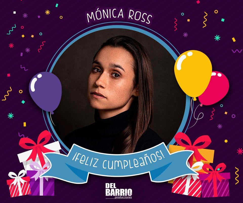 La familia de Del Barrio Producciones le desea un feliz cumpleaños a la bella y talentosa Monica Ross  ¡Únete a la celebración y envíale tus saludos a nuestro querida #Anastasia! pic.twitter.com/gVudAVhZbx
