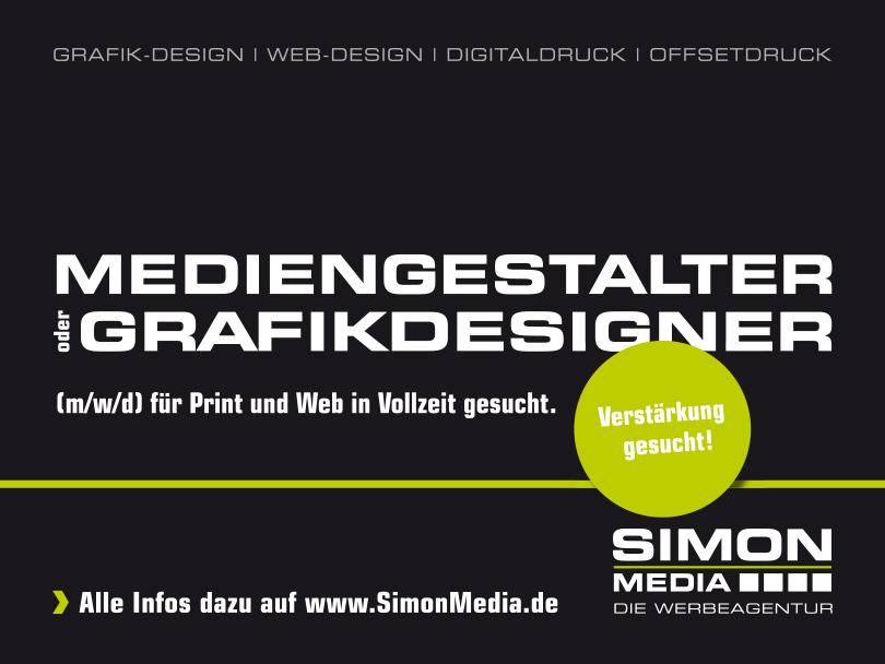Wir, die SimonMedia, sind eine Full-Service Werbeagentur mit Sitz in Rimsting. Wir betreuen unsere Kunden – vom Entwurf bis hin zur Umsetzung – in den Bereichen Grafikdesign und Internet sowie bei allen Printmaßnahmen im Digital- und Offsetdruck.  #Chie https://www.samerbergernachrichten.de/grafikdesigner-mediengestalter-gesucht/…pic.twitter.com/USON0GSN5Z
