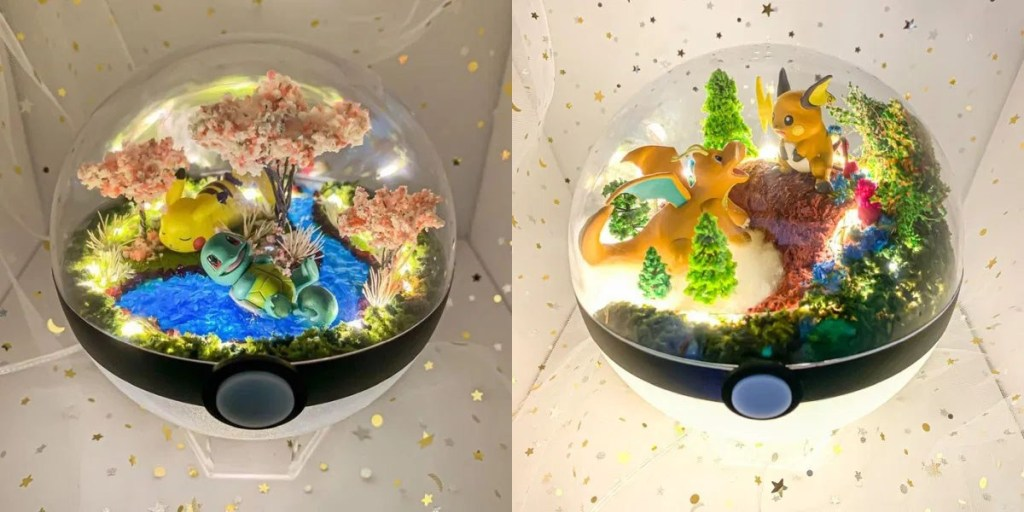 Gorgeous Pokémon Pokeball Terrariums https://www.geeksaresexy.net/2020/02/17/gorgeous-pokemon-pokeball-terrariums/ …pic.twitter.com/aUSHvDonb7