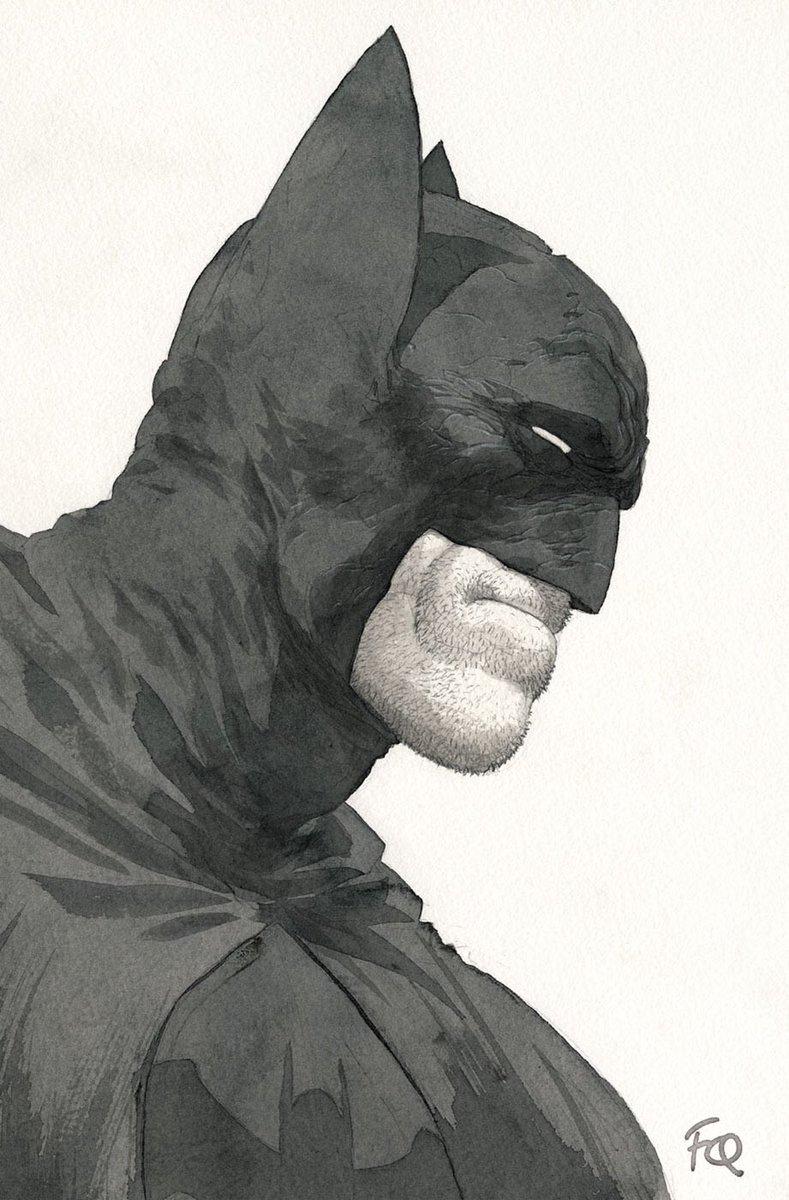 #Batman. Ilustración de Frank Quitely.pic.twitter.com/9v9f1qItOi