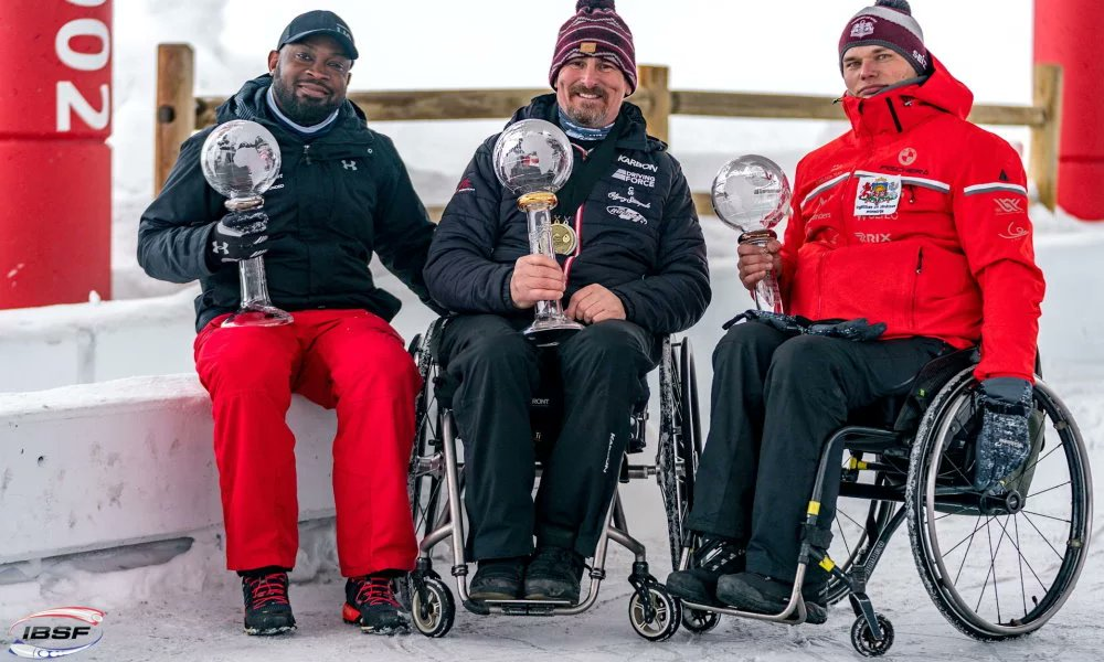 #IBSFparasport World Cup in #ParkCity @UtahOlympicPark: @lonniebase🇨🇦 defends overall World Cup title in Para #Bobsleigh 👇 ibsf.org/en/news/8-bobs… 📷 Ģirts Kehris