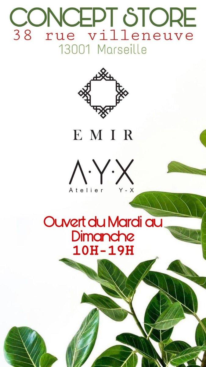 NEW ADRESS   -> CONCEPT STORE <- 38 rue Villeneuve 13001 #marseille #conceptstore #mensclothes pic.twitter.com/odXz0qlTRb