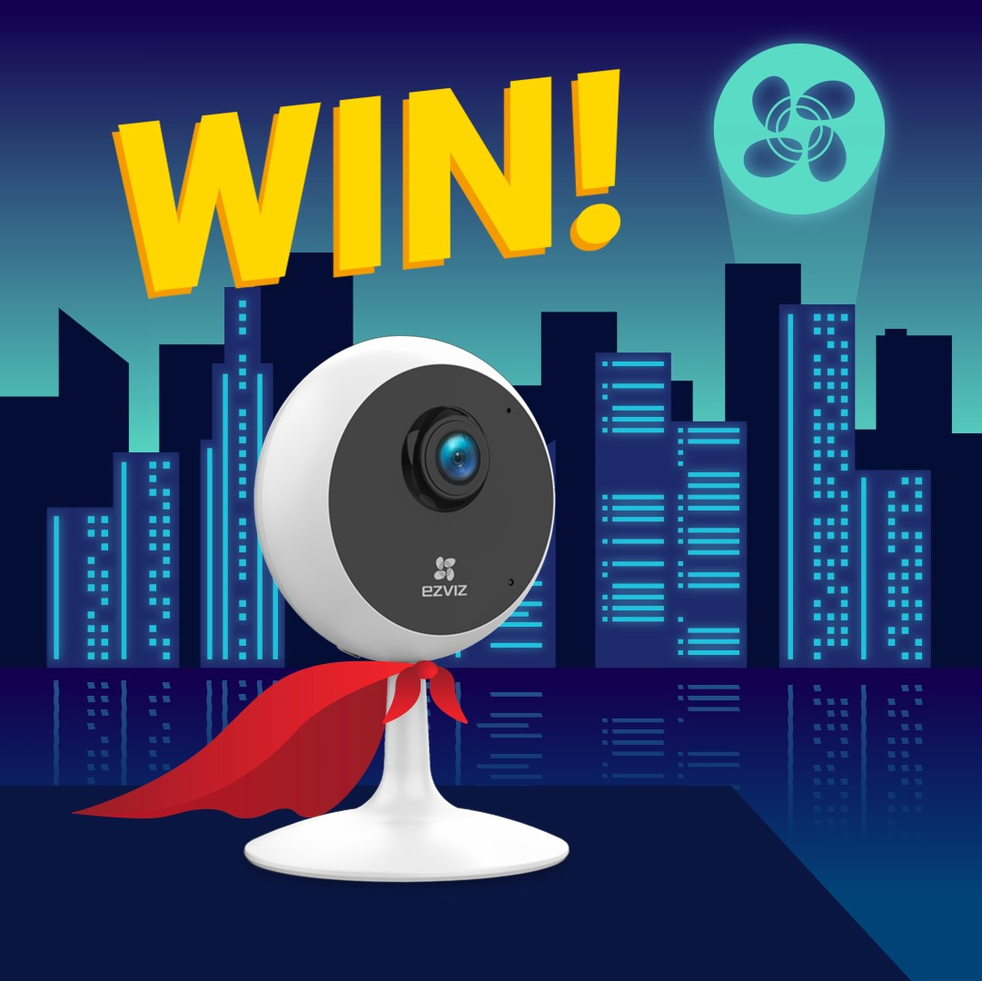 Win one of our Indoor Security Cameras for your home!   All you need to do is 1.RT this post and follow our page 2.Tell us which super power you'd have if you could choose just one 🤔  Competition closes 29th Feb 23:59pm. Good luck 🍀🎉 #competition #ezviz #win