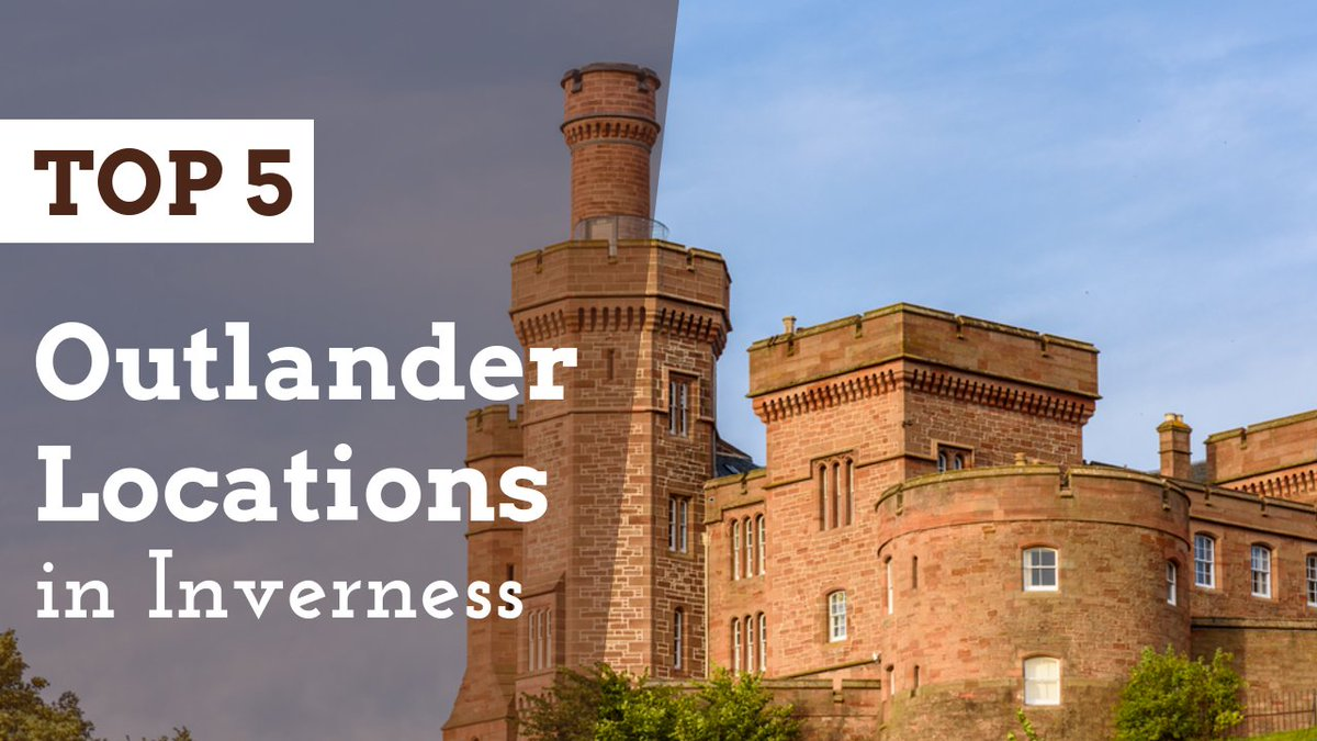NEW VIDEO 🎥 TOP 5 #Historic #Outlander Locations in #Inverness!  Check out the video here 👉   Please SUBSCRIBE to our #YouTube Channel so you don't miss any future uploads! #OutlanderSeries #OutlanderFans #Scotland #History #Highlands