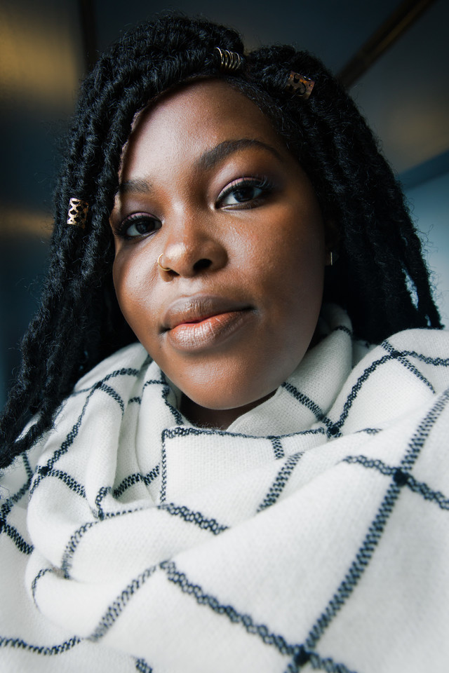 """""""I blog about learning who Pam is, and becoming that person and the journey to being who I am. And also learning to not apologize about it.""""  Pam Johnson Davis of @OneGoalGraduate talks loving yourself unapologetically for #ChiSoundsLike    https:// vocalo.org/pam-johnson-da vis  … <br>http://pic.twitter.com/uMjWokw3gH"""