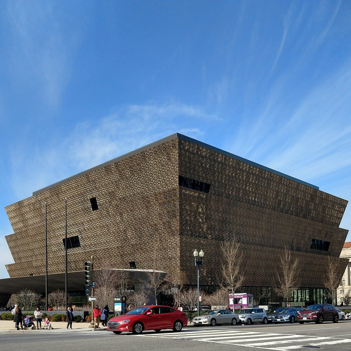 Last day in DC - revisiting the National Museum of African American History.