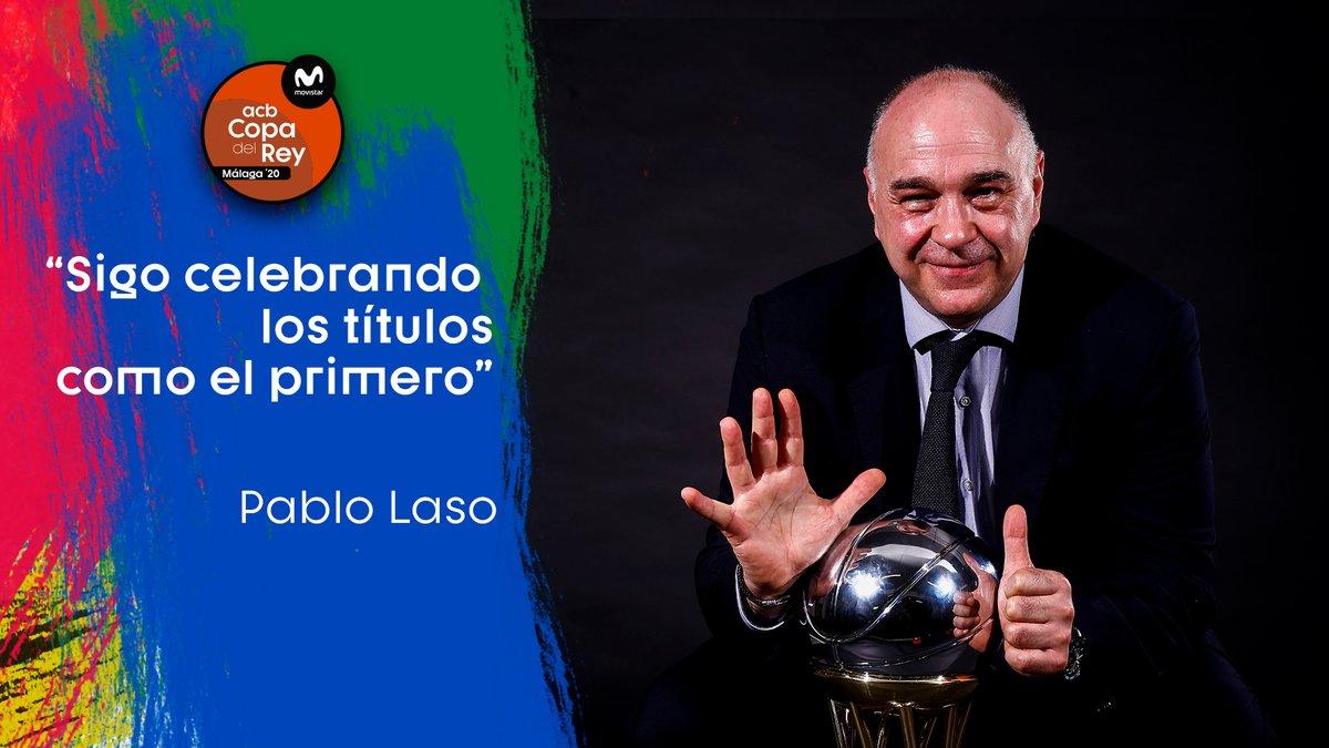 """""""Sigo celebrando los títulos como el primero"""" El hambre de @pablolaso  #CopaACB"""