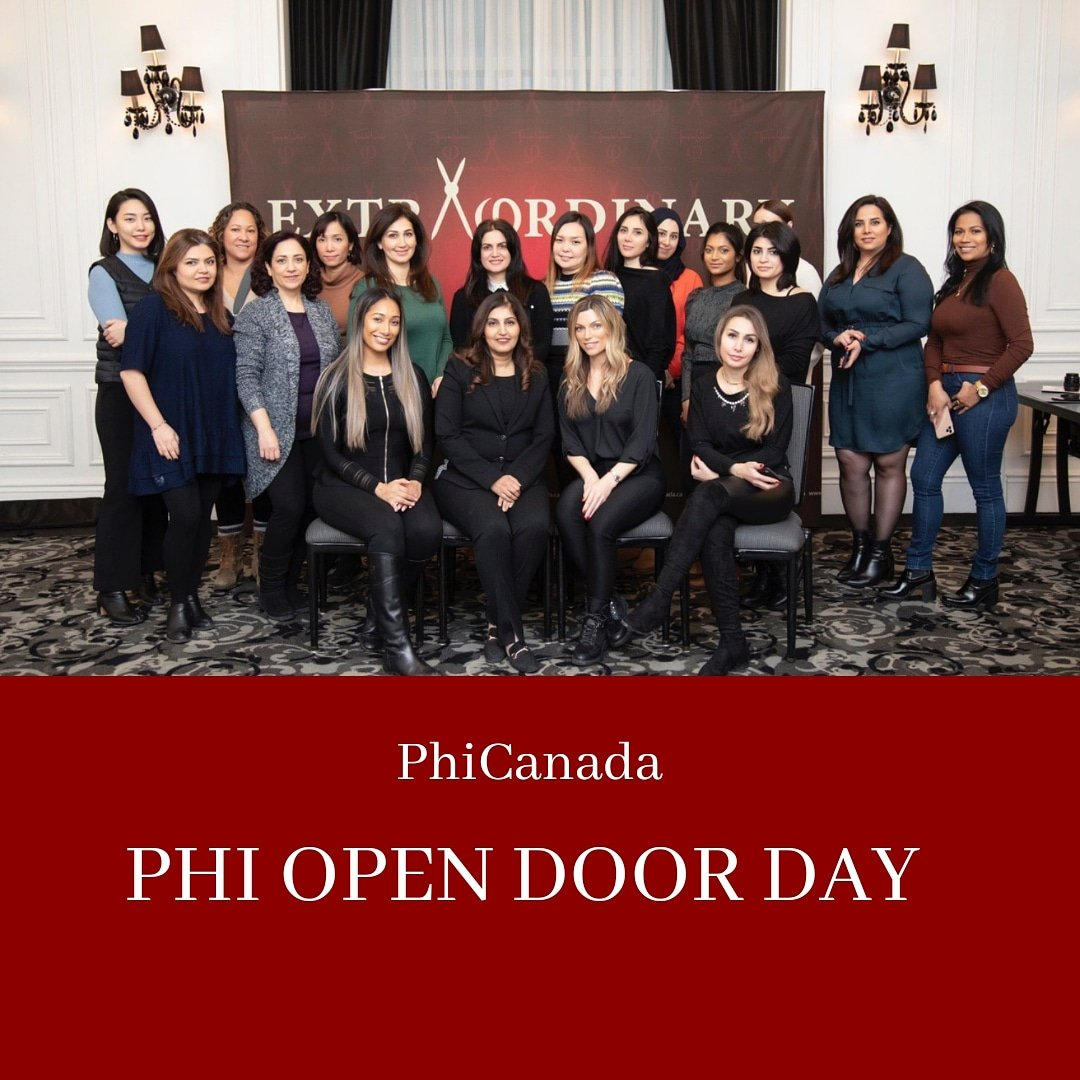 The main idea behind Open Door Day is to familiarize everyone with the beauty industry and everything PhiAcademy has to offer through its courses, before they invest time or money.  Training info: http://WWW.PHICANADA.CA pic.twitter.com/kbur1Ti8w6