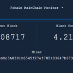 Image for the Tweet beginning: As of today the #PCHAIN