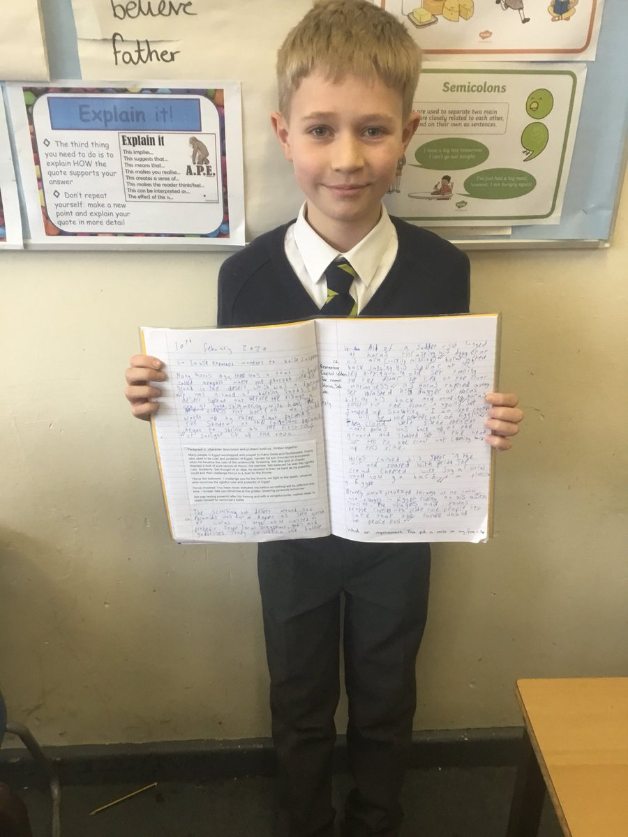 test Twitter Media - RT @GorseyY5: What an improvement in our myth writing today! Well done! #gorseyenglish https://t.co/WhvDYMYiOb