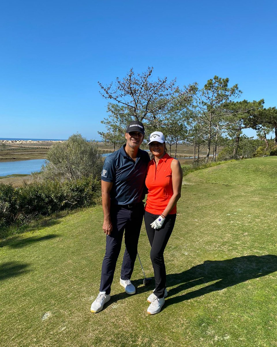 What storm? #Ciara... 🌪️ Great golfing conditions here in the Algarve! ⛳️🇵🇹 Wonderful weather ☀️☀️ https://t.co/qODJohWdP5