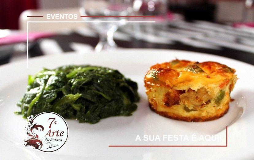 Saudável... mas com muito sabor!!!  Assim é no 7.ª Arte!   Reservas : 963488059 R. Cozinha Económica 11, 1300-149 Lisboa  #setimaarte #alcantara #buffet #food #ttasty #delicious #canapes #bistro #menu #daily #restaurante #restaurant #lunch #festa #party #nightpic.twitter.com/AfK9RHSCH5