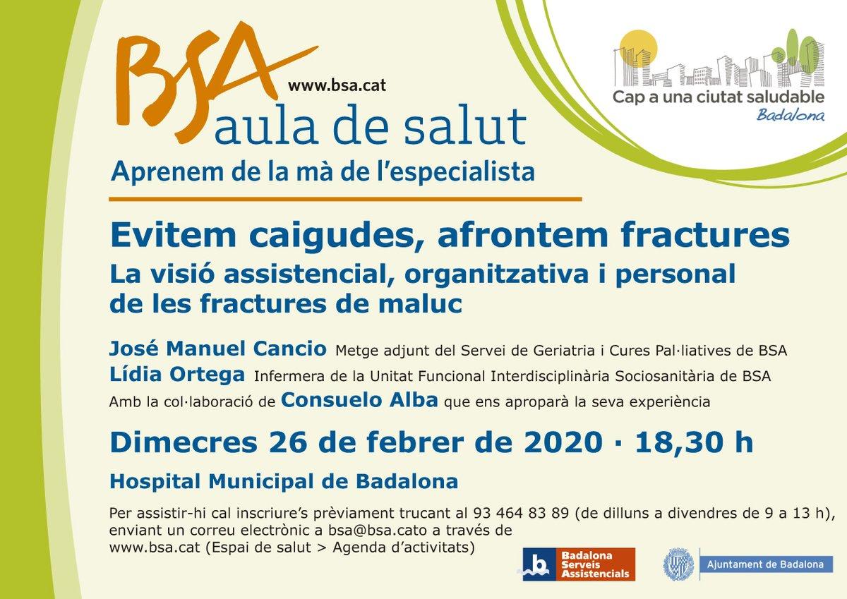 """Resultat d'imatges per a """"AULA DE SALUT BSA"""""""