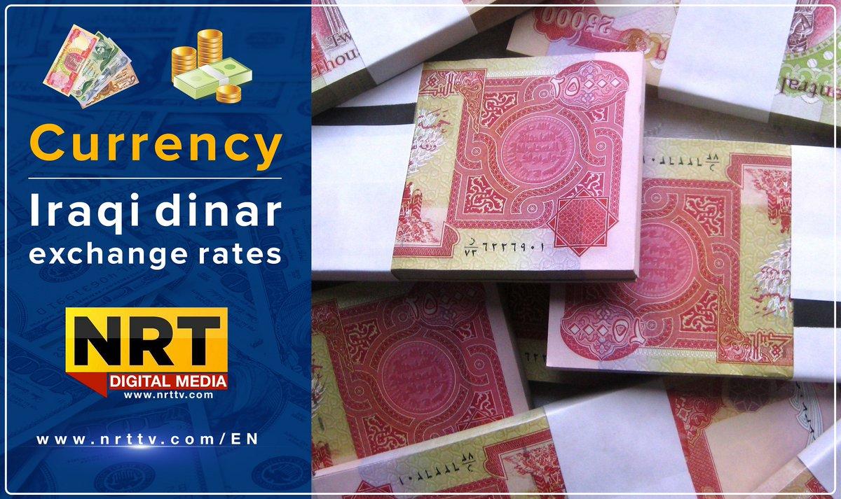 Iraqi Dinar Exchange Rates