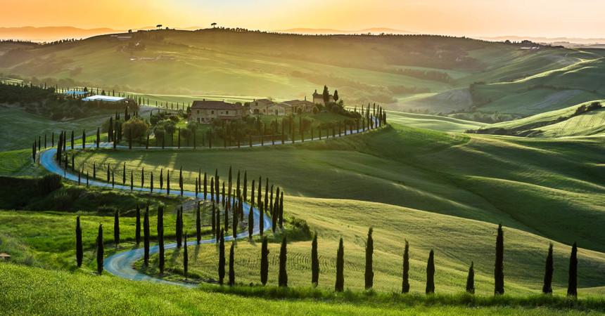 ТОП-3 причины поехать в итальянскую Тоскану весной