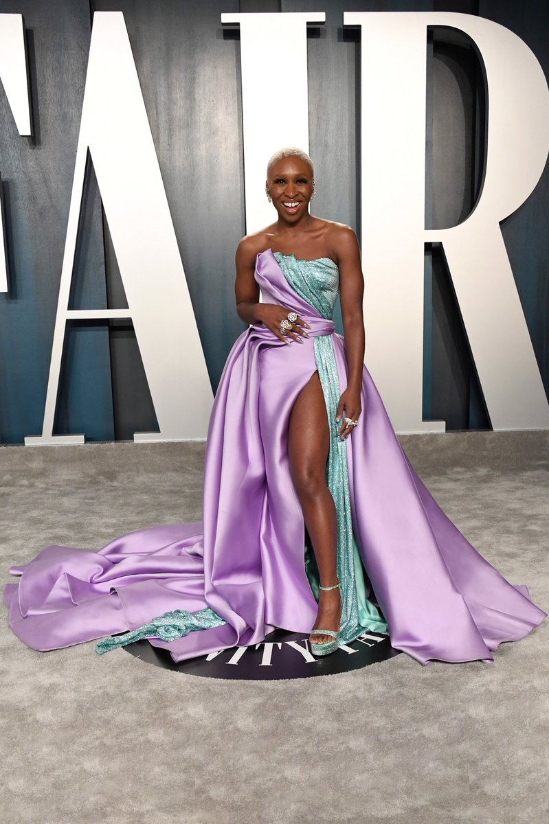 Versace On Twitter Cynthiaerivo In A Custom Lilac And Aquamarine Atelierversace Gown Expertly Constructed In The Moulage Draping Technique Versacecelebrities Vfoscars Https T Co 1o7ykytldl Https T Co Pemywqscoc