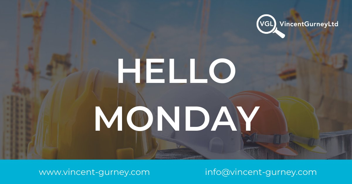 HELLO MONDAY!  After the stormy weather, there is a real spring feeling in the air today. So lets start your week on a positive, need a job? Contact us! Need help hitting a construction target?... We can absolutely help!  #Construction #ConstructionJobs #ConstructionRecruitment pic.twitter.com/vsis30BcVo