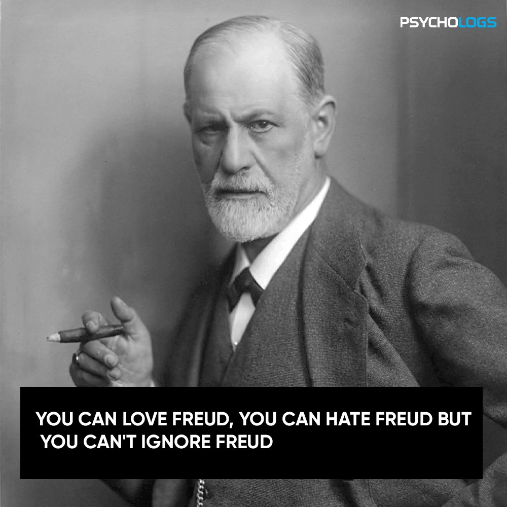 You can love freud, you can hate freud but you can't ignore freud  #psychology #psychologsmagazine #psychologymemes #meme #post #fun #funny #funnymemes #humour #love #hate #freud #ignore #memesdaily #lolpic.twitter.com/2WJbue0diW