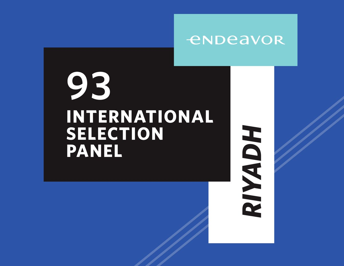 91. Uluslararası Seçim Paneli Riyad'da başladı! Endeavor Seçim Süreci'nin son ayağı olan USP'ye katılan tüm adaylara başarılar dileriz! 🍀