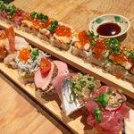 寿司好きは絶対行くべきお店!40cmの寿司を食べれる店がやばかった