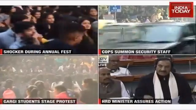 DCW chief @SwatiJaiHind issued notices to both Delhi Police and Gargi college administration over mass molestation. India Today's @Isha_Gupta409 gets us the latest updates.#ITVideoMore Videos: https://indiatoday.in/videos