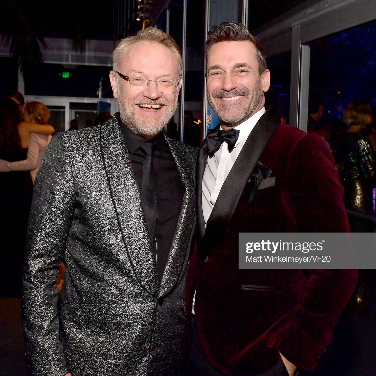 Mad Men Pics On Twitter Don And Lane Reunion Jared Harris And Jon Hamm At The 2020 Vanity Fair Oscar Party On February 09 2020 Oscars Https T Co Cth6eqxjaa