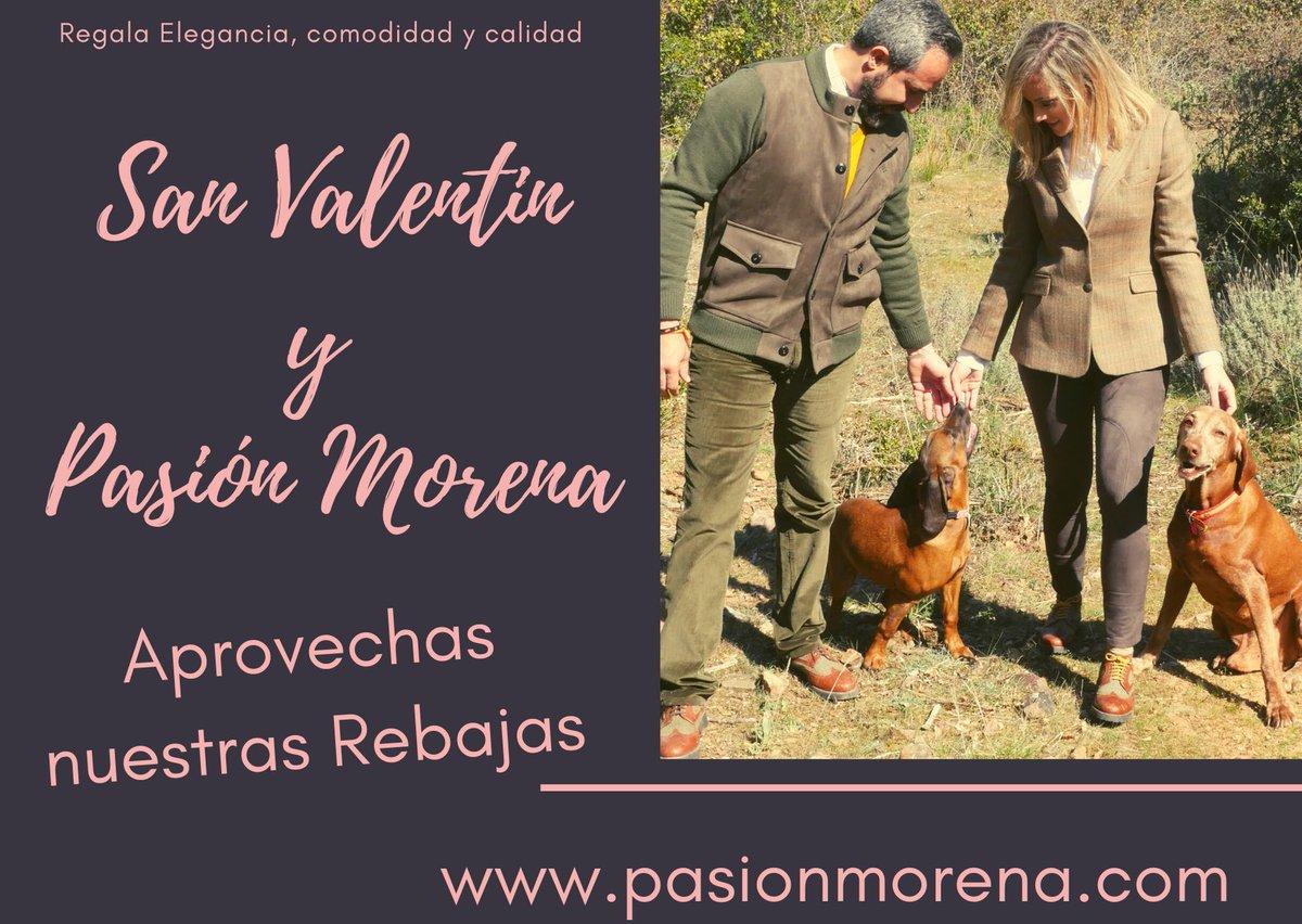 Si todavía no tienes tu Regalo  para #sanvalentin entra en nuestra web http://www.pasionmorena.com#modacaza #cazamoda #equestrianstyle #rocio #candelarias #elrocio #stylehunt #tweedjacket #gentleman #mujercazadora pic.twitter.com/nGJ4KUY4mR