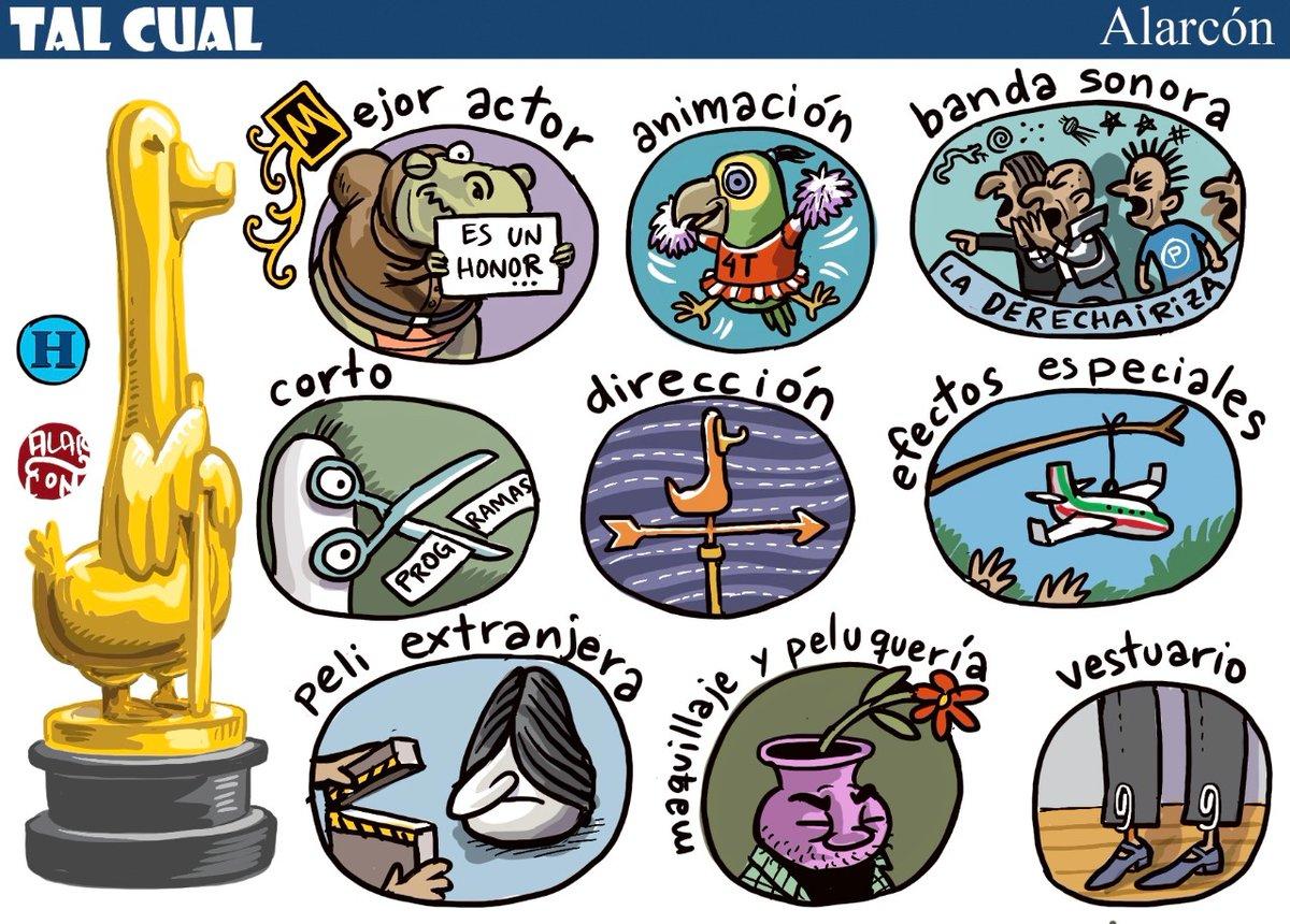 El Óscar cuatroteño - Alarcón