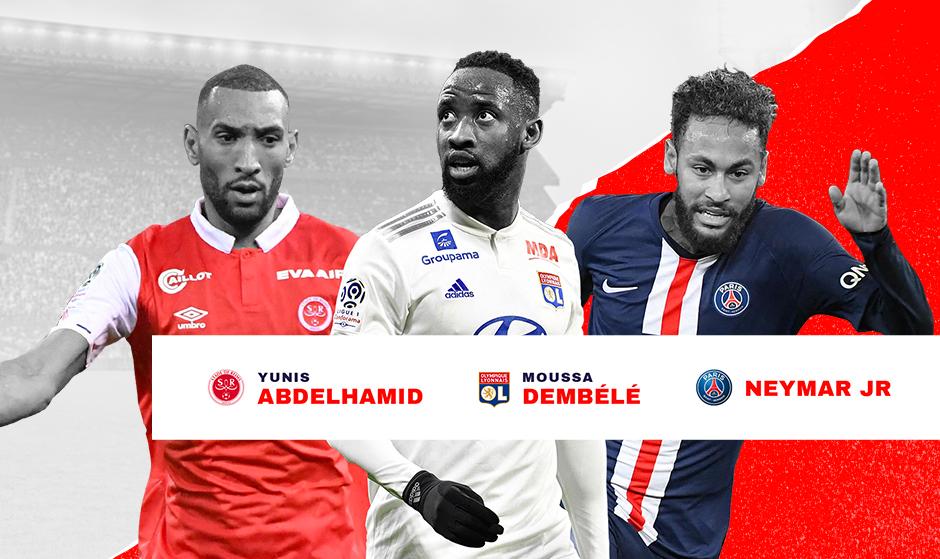 Ligue 1 : les trois nommés pour le joueur de janvier