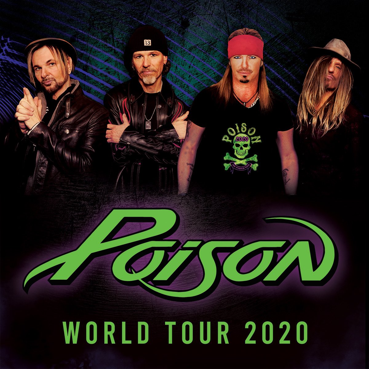 Poison Announces NEW Headline Dates. See website for more details on tickets and VIP.