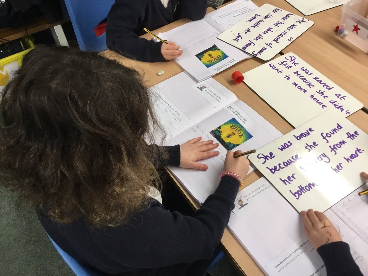 test Twitter Media - Some truly amazing writing produced today inspired by our new text 'When you are brave ' by Pat Zietlow Miller #gorseybookclub #gorseyenglish #gorseypshe ✏️ We remembered to check our punctuation... https://t.co/7PiKq8TFxh