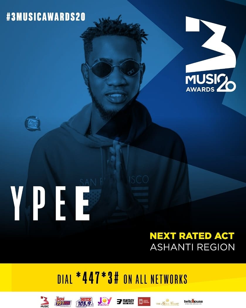YPEE (Ashanti Regio ) & WIZ MALEEK (Upper West Region) are the next 2 Nominees from @3musicAwards '20 NEXT RATED announcement.............  #CONGRATULATIONS #3MusicAwards20 #3musicawards20nextrated  #Hereforthemusic https://t.co/YlFfQSLJt9