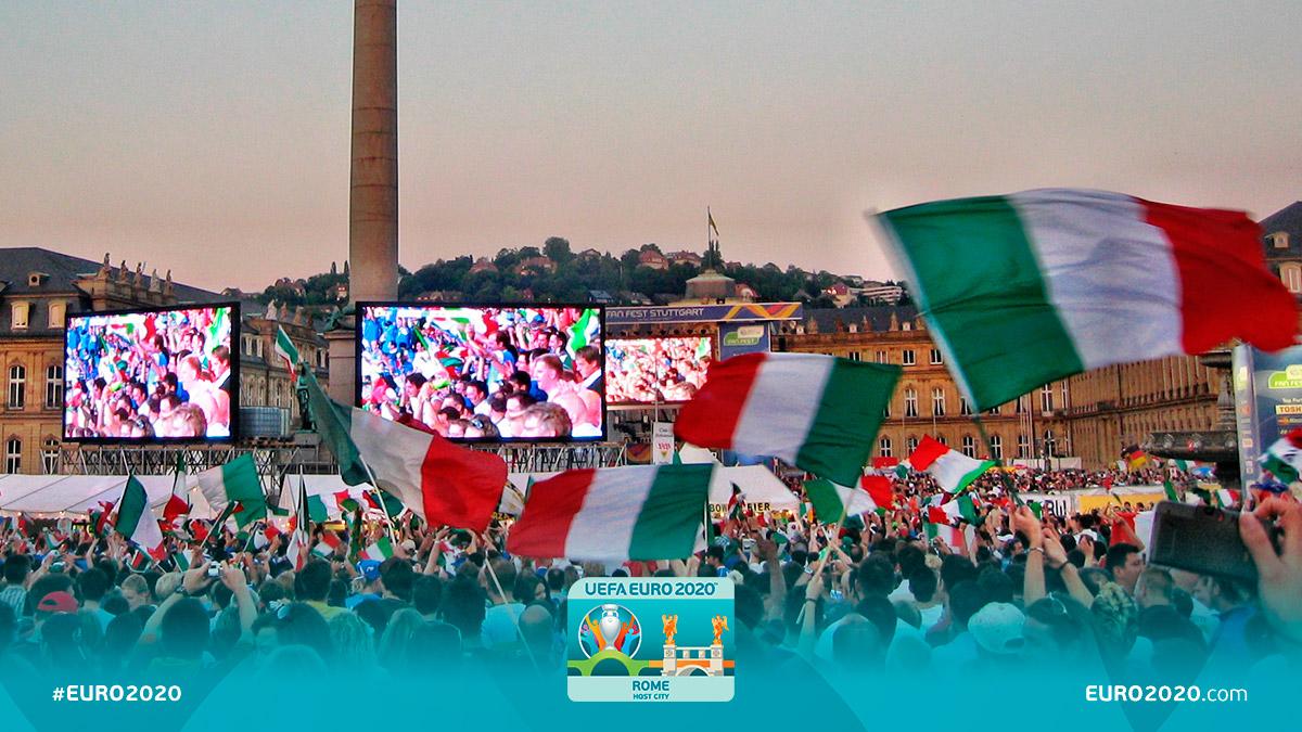 In attesa di rivivere tante emozioni insieme, abbiamo voglia di ascoltare quali sono i vostri più bei ricordi legati alla Nazionale. Raccontateceli! 💥 #EURO2020 #RomaEuro2020 @vivo_azzurro @figc @euro2020 #nottiMagiche #Azzurri