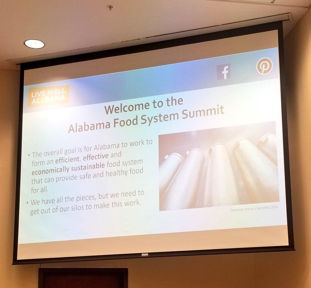 Getting ready for the 2020 Alabama Food System Summit! #LiveWellAlabama