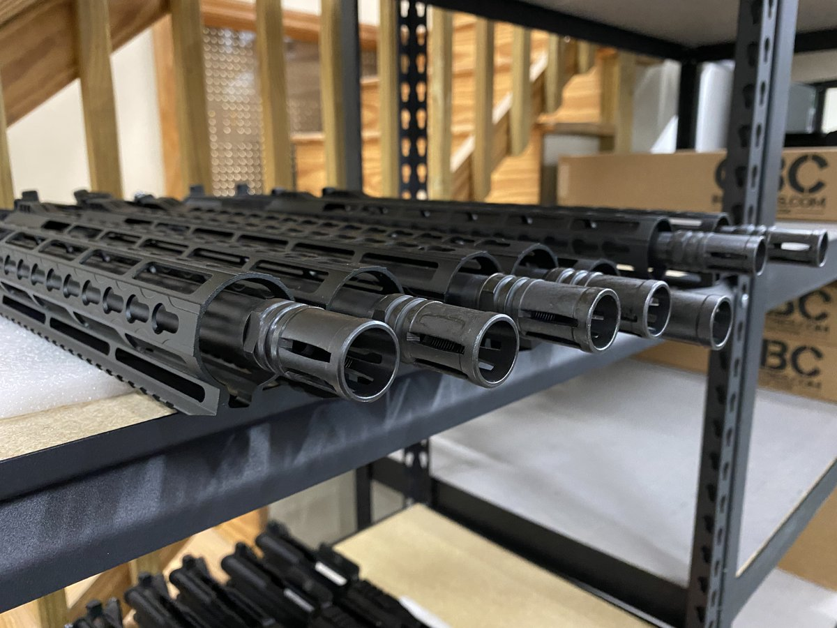 Our guys have been assembling and getting products ready to ship since they walked in the door this morning!  #orders #america @CBCIndustries #pewpew #ar #arupper #builtinamerica #veterans #usa #freedom https://t.co/F5fYPoydmx