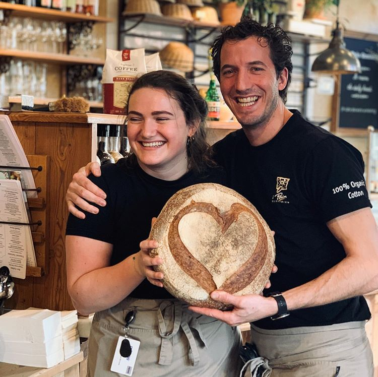 Spread the loaf! 💕 Have you seen our special Valentine's wheat breads yet? 😍 #happyfaces #loveisintheair #amazingteam #valentines #lepainquotidiennl https://t.co/o6un5z03uk
