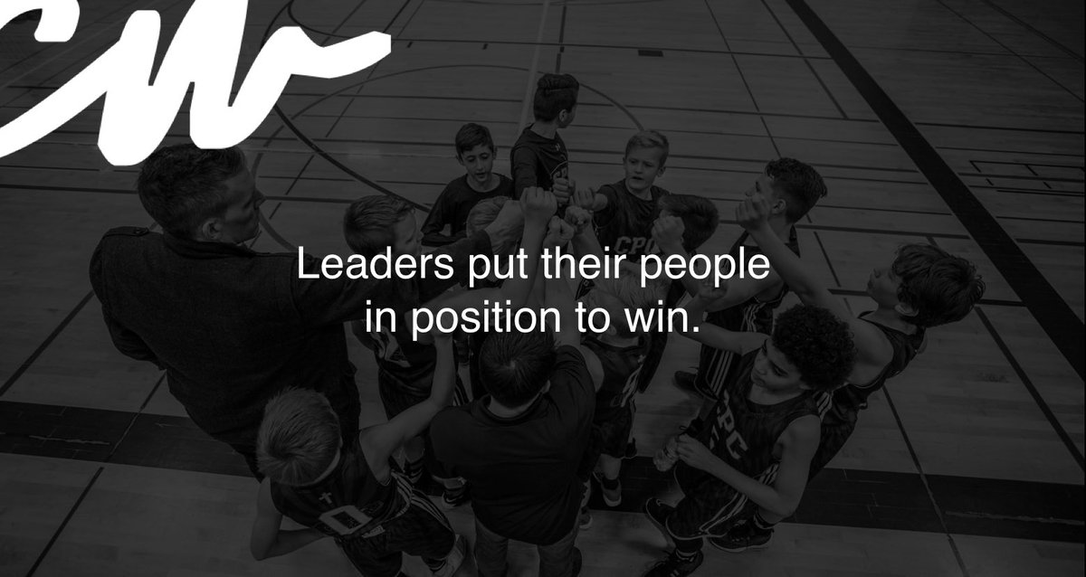 Set your team up for success.