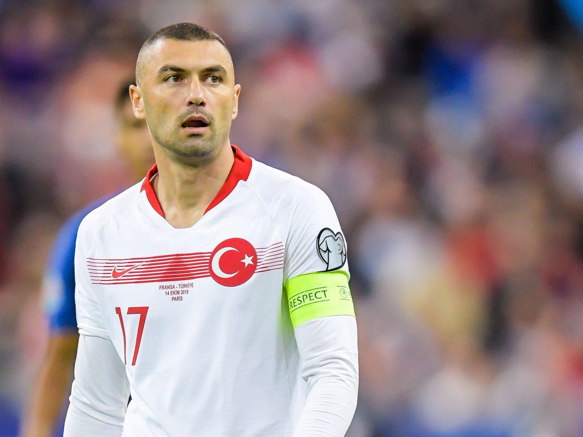 "UEFA EURO 2020 on Twitter: ""🇹🇷 Consecutive club games Burak Yılmaz has scored in = 4⃣❗️ #EURO2020… """