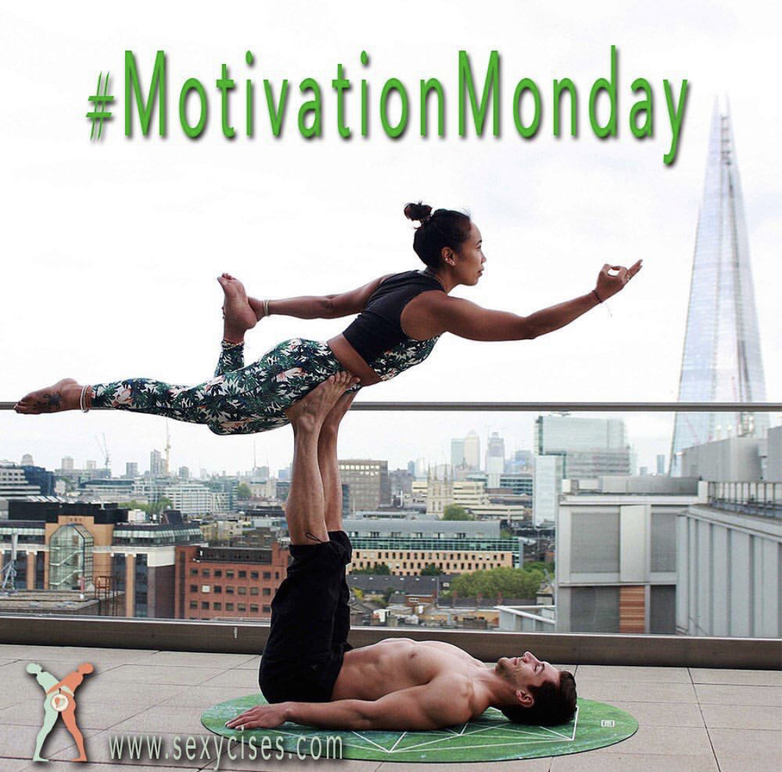 If you don't try new things you'll never grow.. Step up your love life with the ULTIMATE Couples Workout, SEXYCISES! http://Sexycises.com #Sexycises #CouplesYoga #CouplesWorkout #MondayMotivation #HappyMonday #MondayMood #PoseOfTheDay pic.twitter.com/AdakfkVsp9