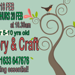 Image for the Tweet beginning: Next week at Cwmbran Library!